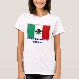 Camiseta México, o que acontece em México…