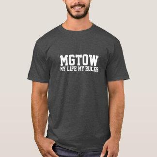 Camiseta MGTOW - Minha vida minhas regras