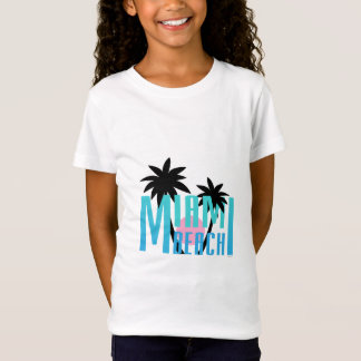 Camiseta Miami Beach, Florida, tipografia legal