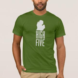 Camiseta Michigan - cinco altos