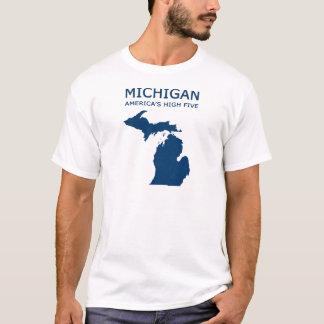 Camiseta Michigan. Os cinco altos de América