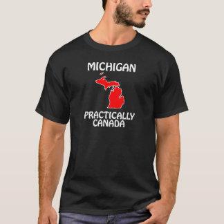 Camiseta Michigan - praticamente Canadá