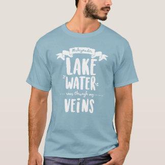 Camiseta Michigander - funcionamentos da água do lago