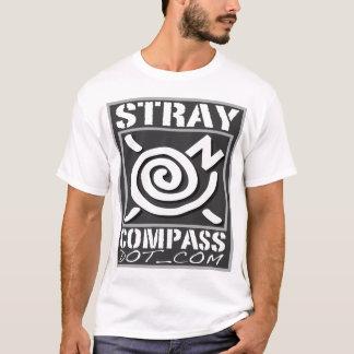 Camiseta Microfiber - StrayCompass - homens de prata