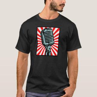 Camiseta Microfone do vintage de Shure 55S
