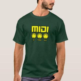 Camiseta Midi amarelo maravilhoso
