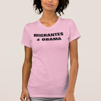 Camiseta Migrantes Por Obama!
