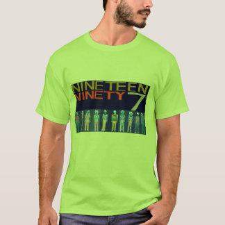 Camiseta Mil novencentos e noventa e sete, imagem invertida