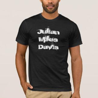 Camiseta Miles Davis juliano preto e branco