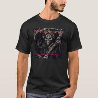 Camiseta Milícia do metal