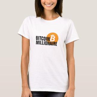 Camiseta Milionário de Bitcoin
