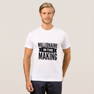 Camiseta Milionário no t-shirt do fazer