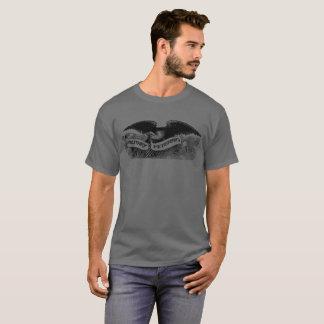 Camiseta militar do veterano com Eagle simbólico