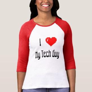 """Camiseta """"Mim <3 t-shirt da minha cara da tecnologia"""""""