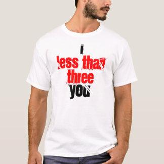 Camiseta Mim <3 você