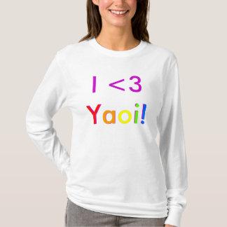 Camiseta Mim <3 Yaoi!