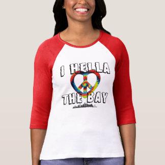 Camiseta Mim amor de Hella a tintura do laço da baía