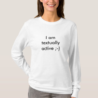 Camiseta Mim amtextuallyactive; -)