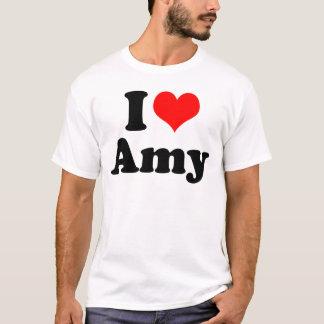 Camiseta Mim Amy do coração/amor