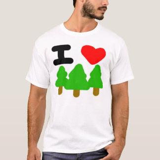 Camiseta Mim árvores de amor