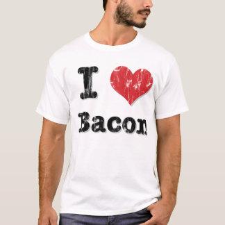 Camiseta Mim bacon do coração
