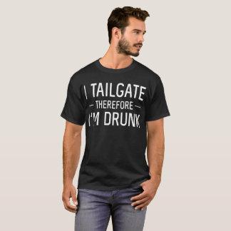 Camiseta Mim bagageira; Conseqüentemente, eu estou bêbedo