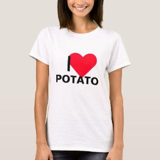 Camiseta Mim batata do coração