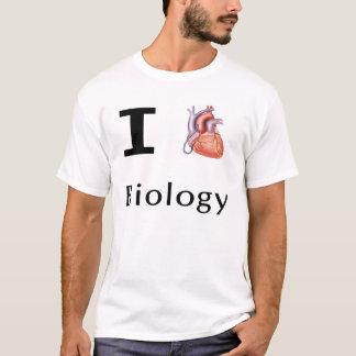 Camiseta Mim biologia do coração