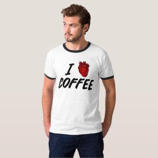 Camiseta Mim café do coração - café do amor de I