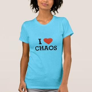 Camiseta Mim caos do coração