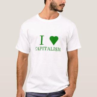 Camiseta Mim capitalismo do coração