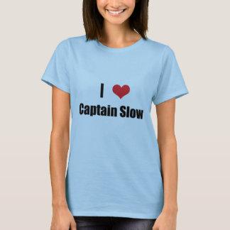 Camiseta Mim capitão Lento do coração