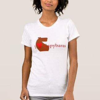 Camiseta Mim Capybaras do coração