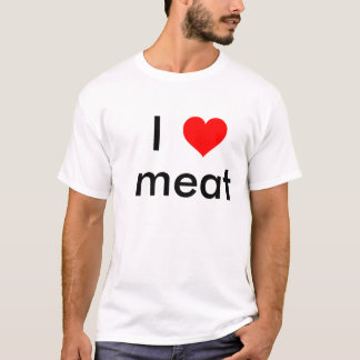 Camiseta Mim carne do coração
