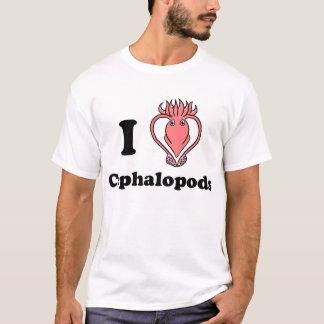 Camiseta Mim cefalópode do calamar