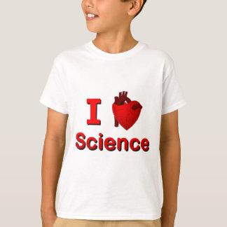 Camiseta Mim ciência <3