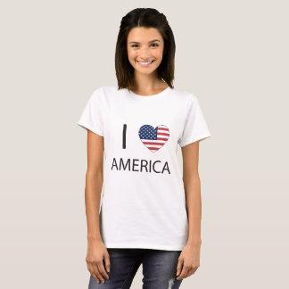 Camiseta Mim coração América