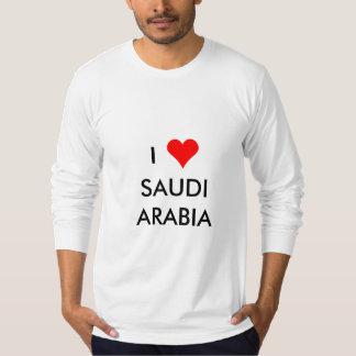 Camiseta mim coração Arábia Saudita