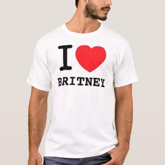 Camiseta Mim (coração) Britney