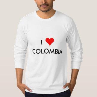 Camiseta mim coração Colômbia