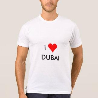 Camiseta mim coração Dubai