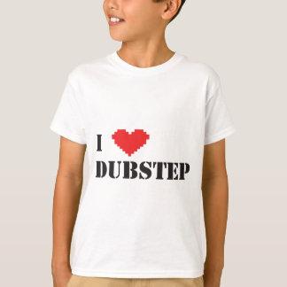 Camiseta mim coração Dubstep