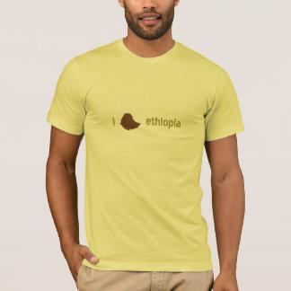Camiseta mim coração Etiópia