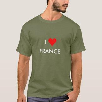 Camiseta mim coração france