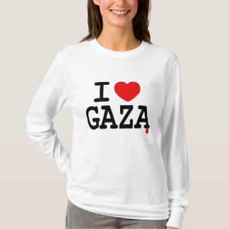 CAMISETA MIM CORAÇÃO GAZA