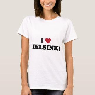 Camiseta Mim coração Helsínquia Finlandia
