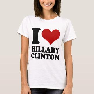 Camiseta Mim coração Hillary Clinton