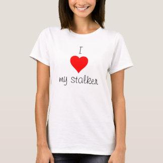 Camiseta Mim coração meu assediador