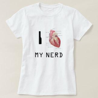 Camiseta Mim coração meu nerd
