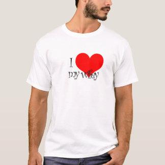 Camiseta Mim coração meu tshirt de Wifey